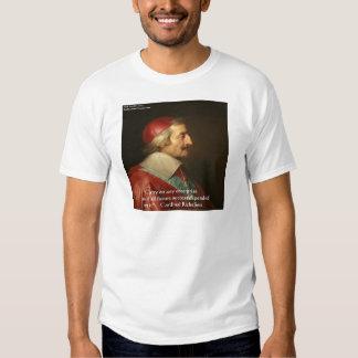 Citações da sabedoria do sucesso de Cardeal Tshirt