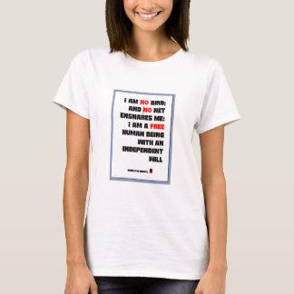 Citações de Charlotte Bronte, eu não sou nenhum Camiseta