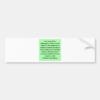 citações de copernicus adesivos