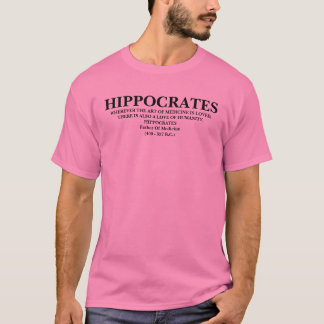 CITAÇÕES DE HIPPOCRATES - CAMISA