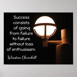Citações de Winston Churchill do ~~ do impressão