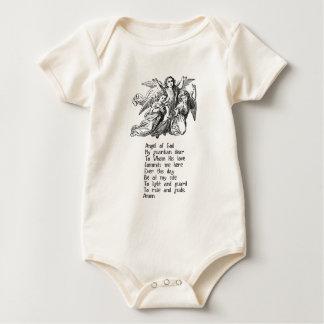 Citações do anjo-da-guarda body para bebê