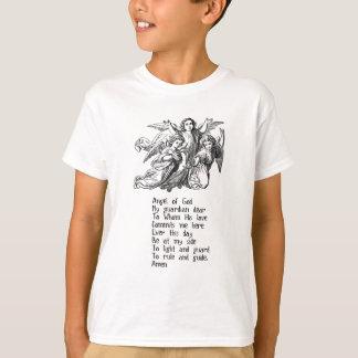 Citações do anjo-da-guarda camiseta