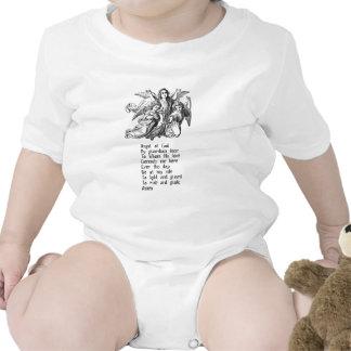 Citações do anjo-da-guarda camisetas