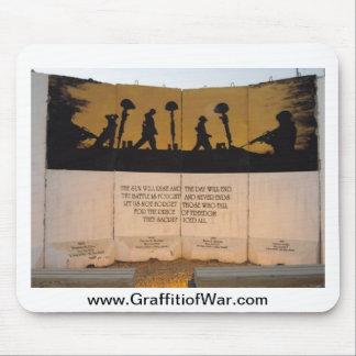 Citações do memorial/Garfield da barreira do jérse Mousepads