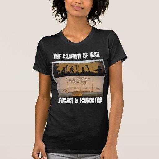Citações do memorial/Garfield da barreira do T-shirt