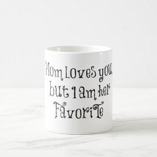 Citações engraçadas: A mamã ama-o mas Canecas