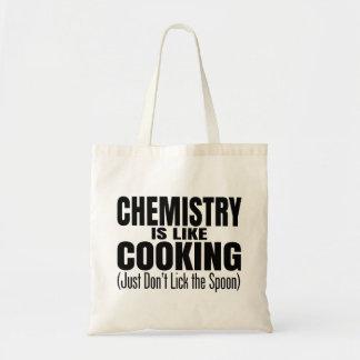 Citações engraçadas do professor da química sacola tote budget