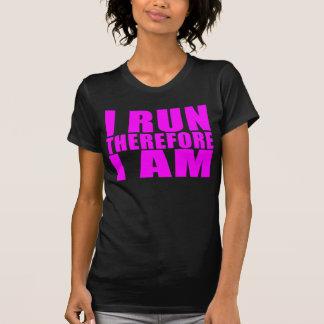 Citações engraçadas dos corredores da menina: Eu Camiseta