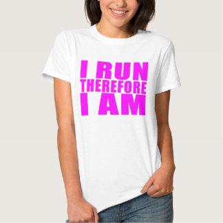 Citações engraçadas dos corredores da menina: Eu Tshirts