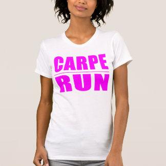 Citações engraçadas dos corredores da menina: camiseta