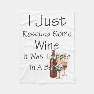 Citações engraçadas sobre o vinho, bebendo cobertor de lã