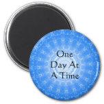 citações espirituais inspiradas - um dia de cada v imã de geladeira
