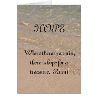 Citações Havaí de Rumi do cartão da inspiração da