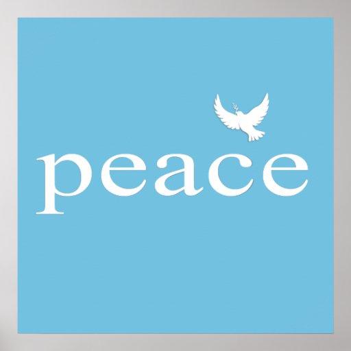 Citações inspiradas da paz poster