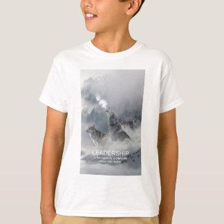 citações inspiradas inspiradores da liderança camiseta