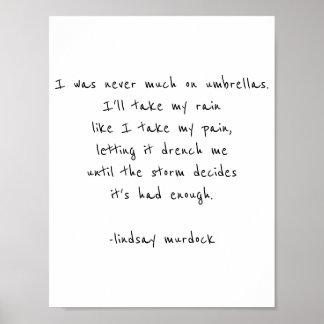 citações no poster para moldar a poesia inspirada pôster