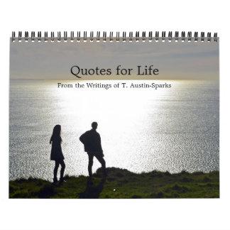 Citações para a opção C do calendário da vida