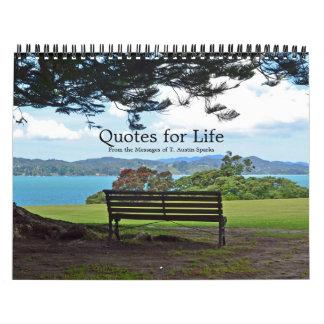 Citações para a opção E do calendário da vida