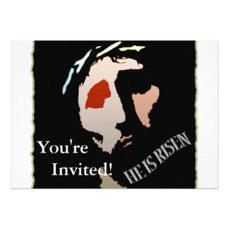 Citações religiosas do verso da bíblia de Jesus da Convites Personalizado