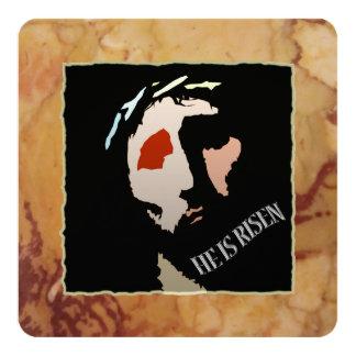 Citações religiosas do verso da bíblia de Jesus da Convite Quadrado 13.35 X 13.35cm