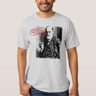 Citações sigar de Sigmund Freud Tshirts