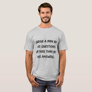 Citações sobre a vida de Voltaire Camiseta