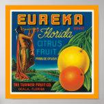 Citrino de Eureka Florida Poster