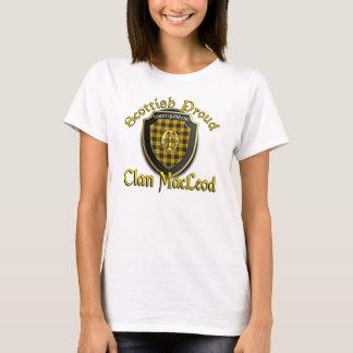 Clã MacLeod de camisas orgulhosas escocesas de