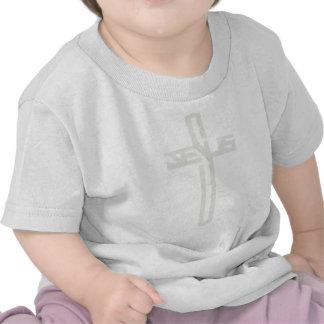 Clair dos gris do croix do en de Jesus Camiseta