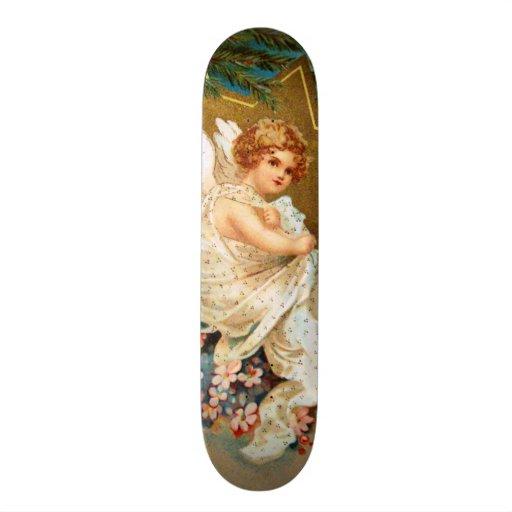 Clapsaddle: Anjo do Natal Skate