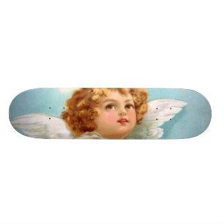 Clapsaddle: Anjo encantador do ano novo Skate Personalizado