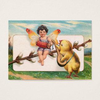 Clapsaddle: Fada da páscoa do fazer da música Cartão De Visitas