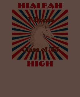 Classe alta de Hialeah T-Breds 'do t-shirt de 65