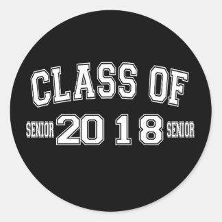 Classe da etiqueta 2018
