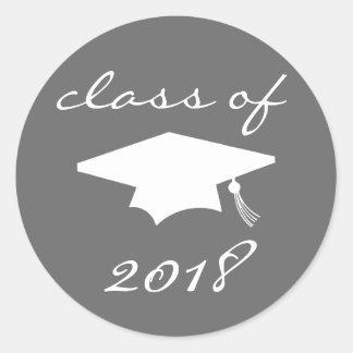 Classe da etiqueta 2018 (boné de formatura