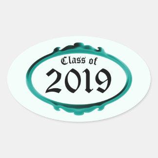 Classe da etiqueta 2019 do quadro da cerceta por