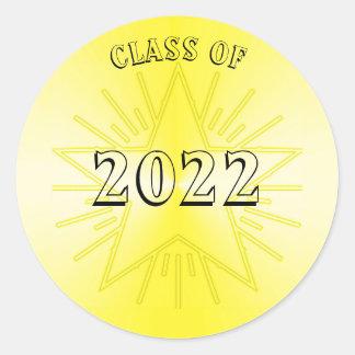 Classe da etiqueta 2022 da estrela do ouro por