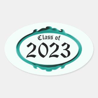 Classe da etiqueta 2023 do quadro da cerceta por