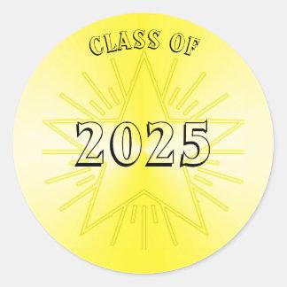 Classe da etiqueta 2025 da estrela do ouro por