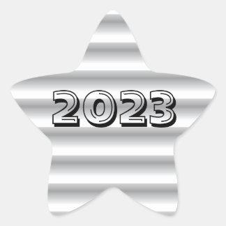 Classe da etiqueta de prata da estrela 2023 por
