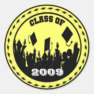 Classe de 2009 adesivo