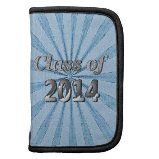 Classe de 2014 azuis e de prata agenda