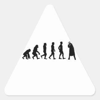 Classe de 2017 adesivo triangular