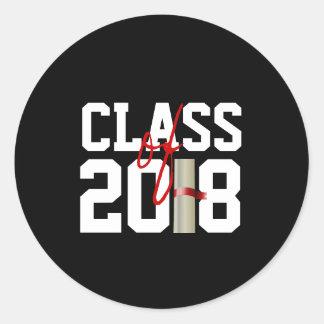 CLASSE de 2018 etiquetas
