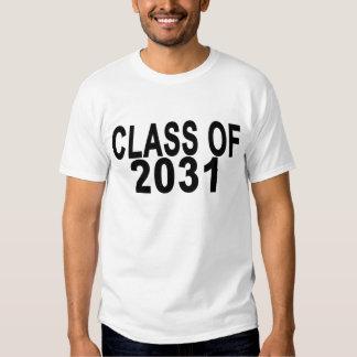 Classe de 2031.png t-shirts