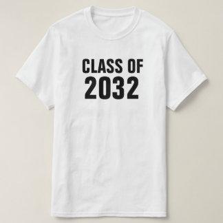 Classe de 2032 - camisa adulta para que os miúdos