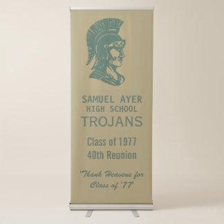 Classe de Ayer 'de 40th Trojan da reunião 77 Banner Retrátil