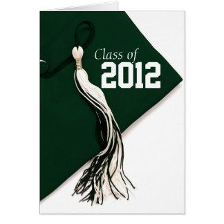 Classe de cartão verde da graduação 2012