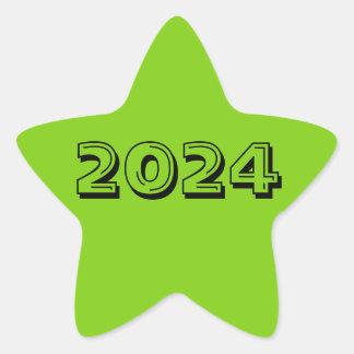 Classe de etiqueta da estrela do verde 2024